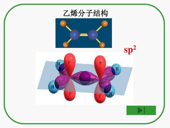 乙烯分子结构