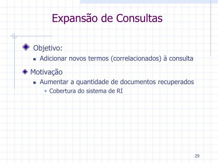 Expansão de Consultas