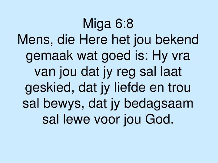Miga 6:8