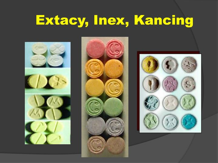 Extacy, Inex, Kancing