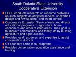 south dakota state university cooperative extension