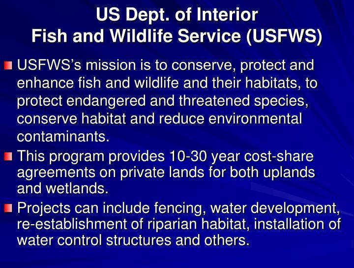 US Dept. of Interior