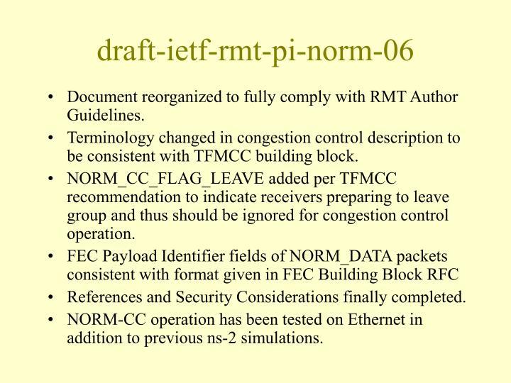 draft-ietf-rmt-pi-norm-06