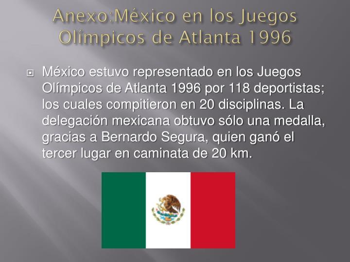 Anexo:México