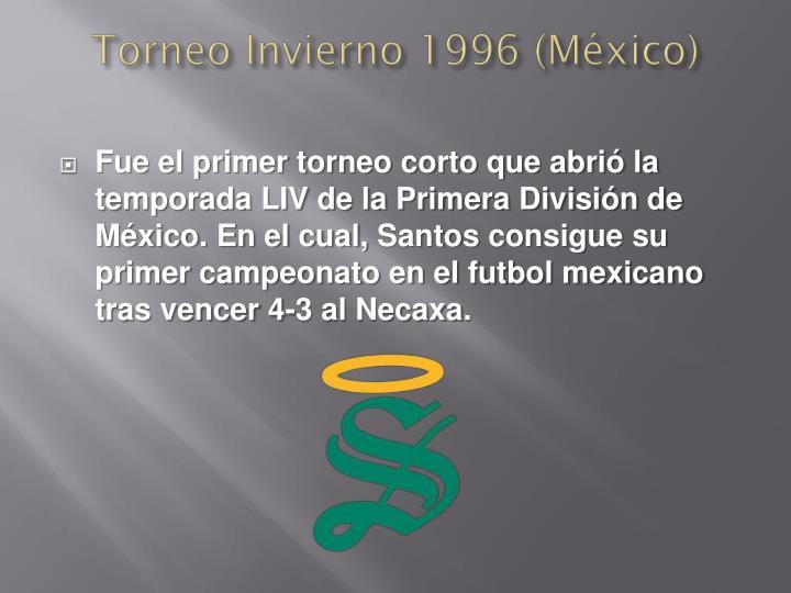 Torneo Invierno 1996 (México)