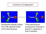 inversion of configuration
