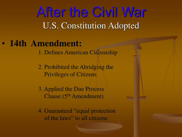 the fifth amendment essay example E final fifth part places congress responsible for all the reconstruction justify we can write a custom essay on  14th amendment essay sample.