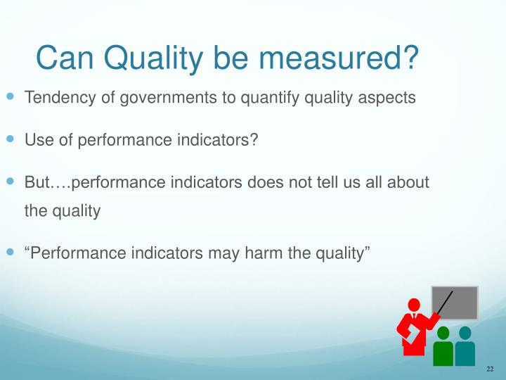 Can Quality be measured?