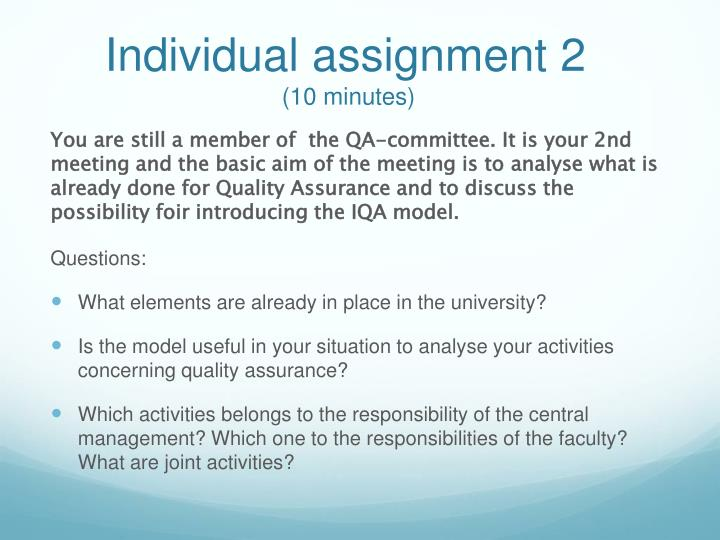 Individual assignment 2