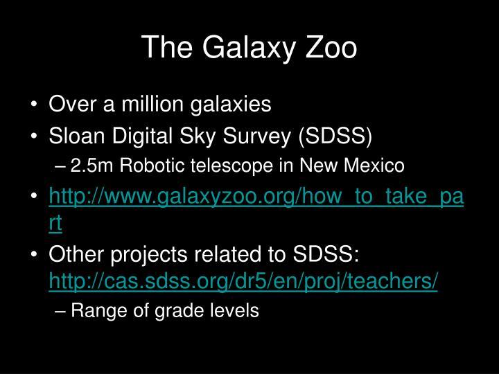 The Galaxy Zoo