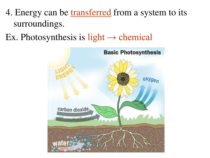 4. Energy can be
