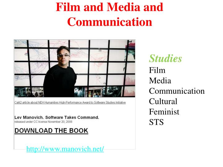 Film and Media and Communication