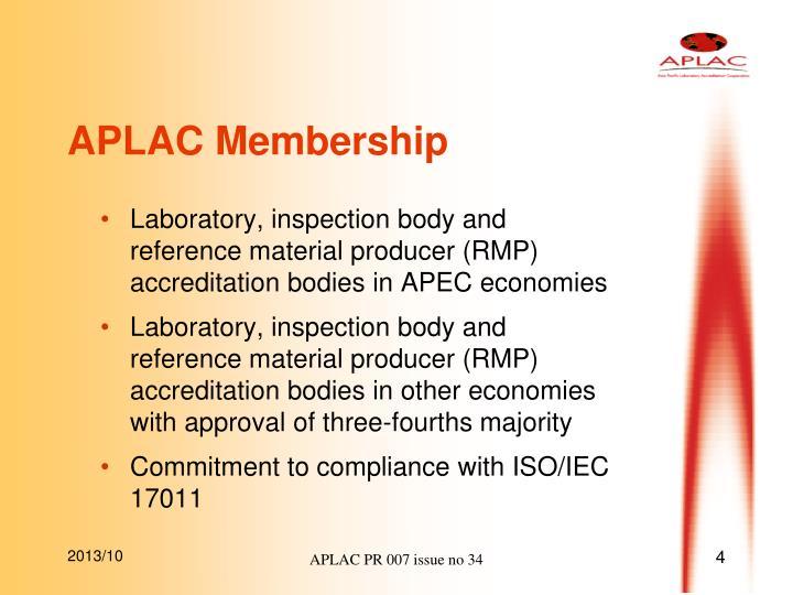 APLAC Membership