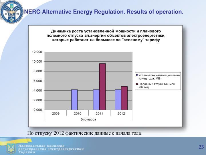 NERC Alternative Energy Regulation