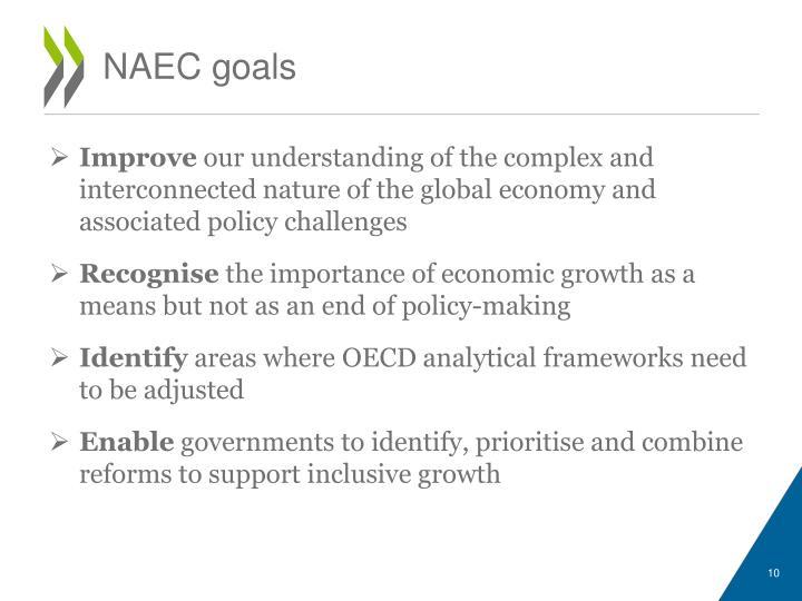 NAEC goals