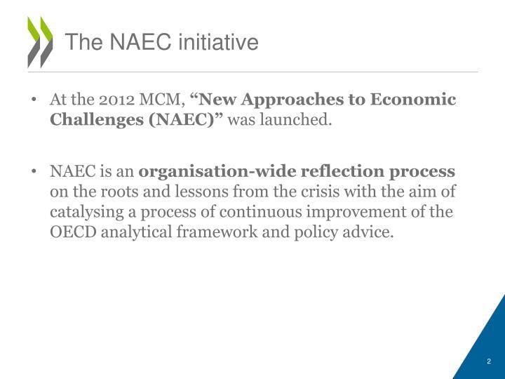 The NAEC initiative