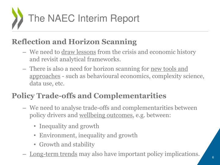 The NAEC Interim Report