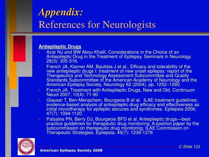 Appendix: