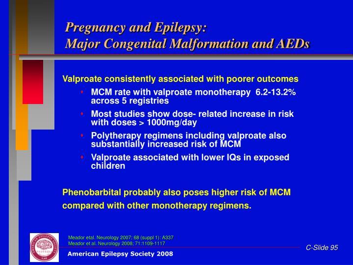 Pregnancy and Epilepsy: