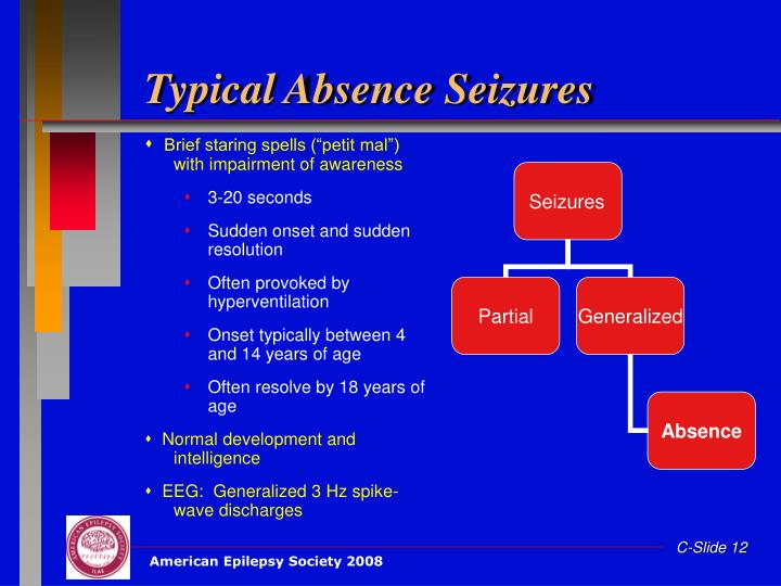 Typical Absence Seizures
