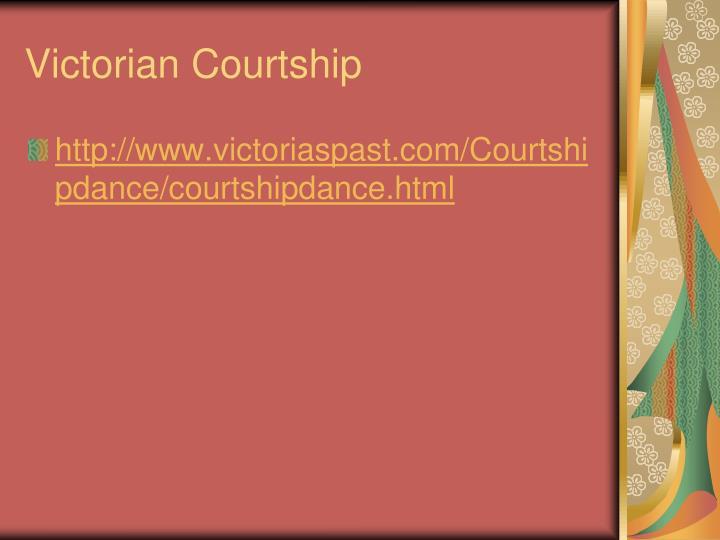 Victorian Courtship
