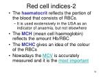 red cell indices 2