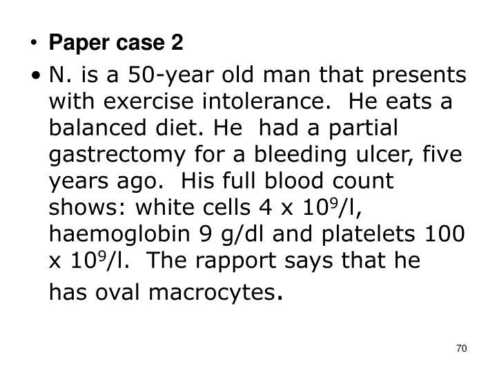Paper case 2