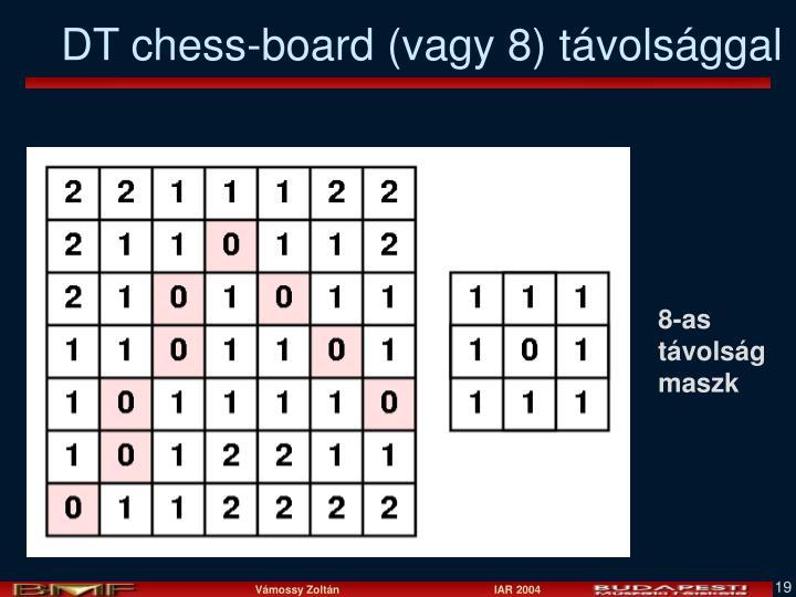 DT chess-board (vagy 8) távolsággal