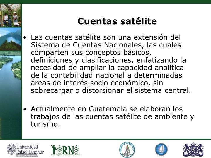 Cuentas satélite