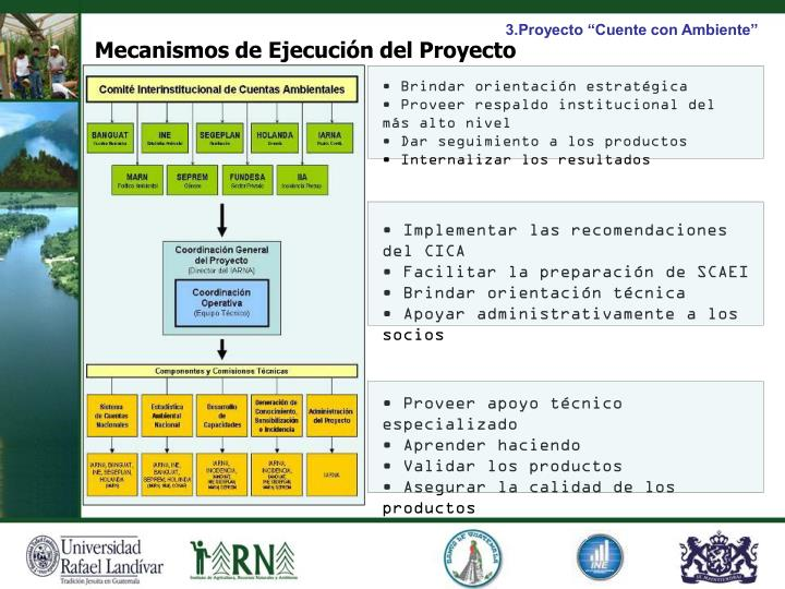 """3.Proyecto """"Cuente con Ambiente"""""""
