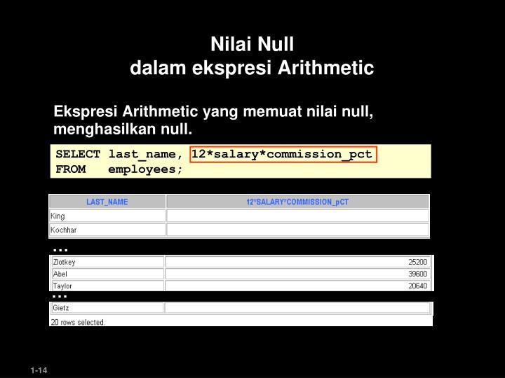 Nilai Null