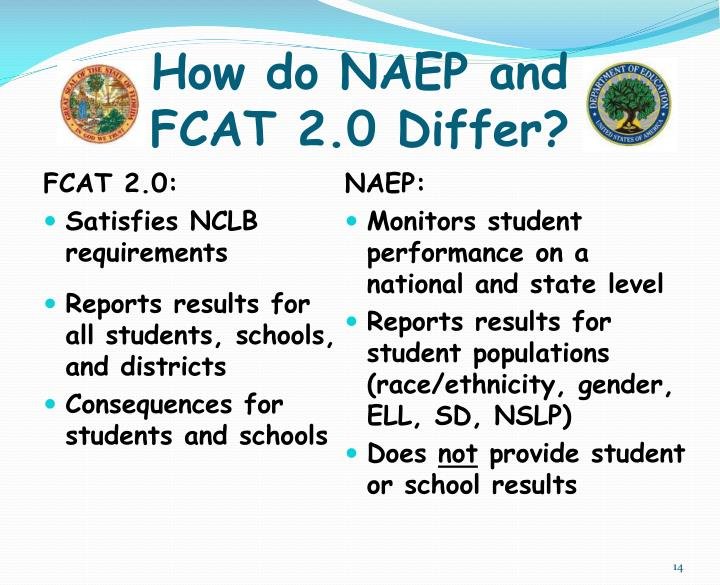How do NAEP and