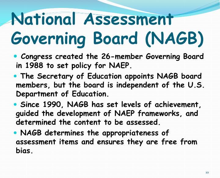 National Assessment Governing Board (NAGB)