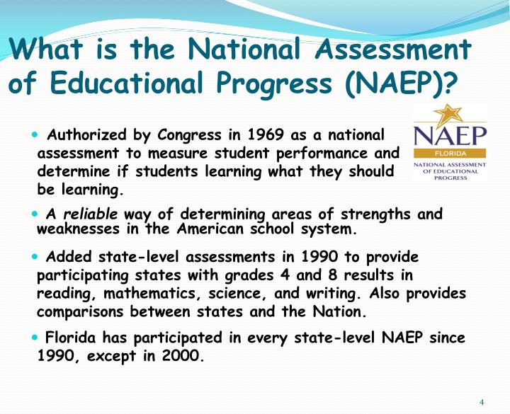 What is the National Assessment of Educational Progress (NAEP)?