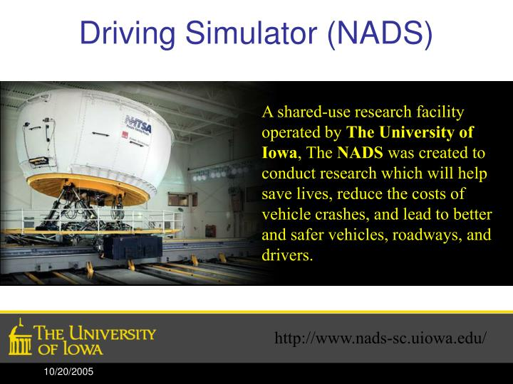 Driving Simulator (NADS)