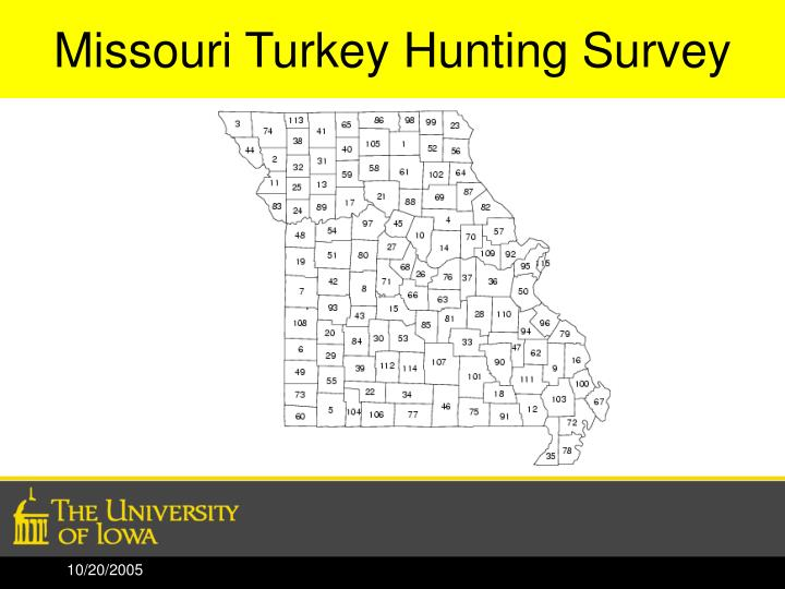 Missouri Turkey Hunting Survey