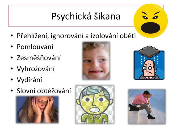 Psychická šikana