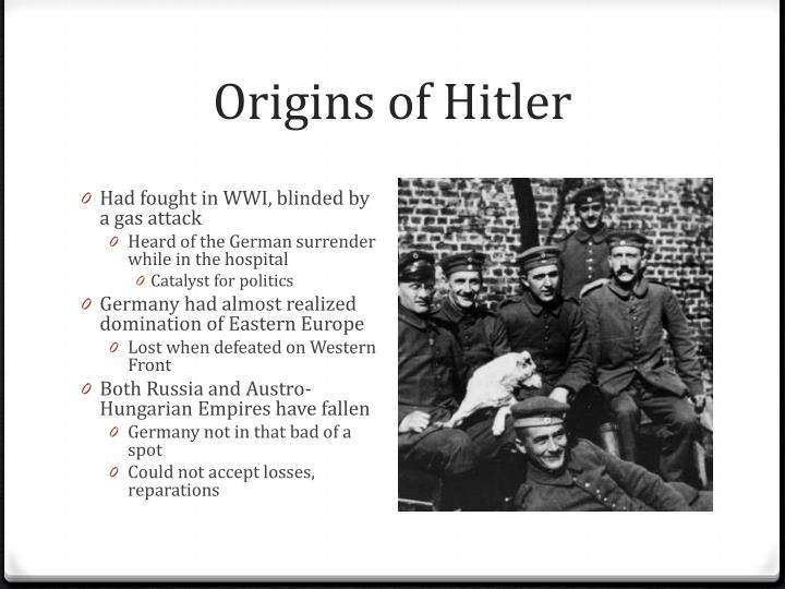 Origins of Hitler