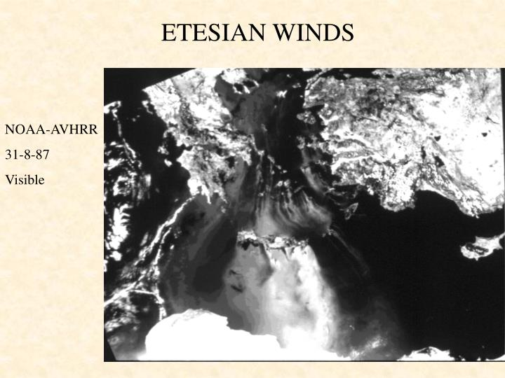 ETESIAN WINDS