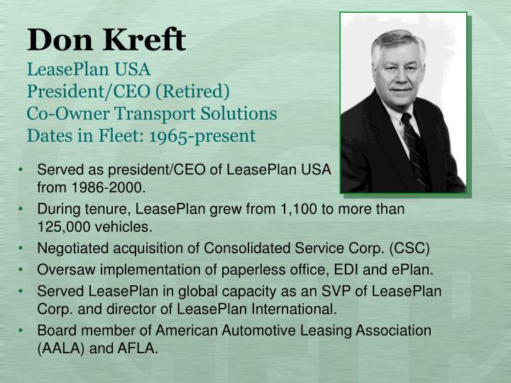 Don Kreft