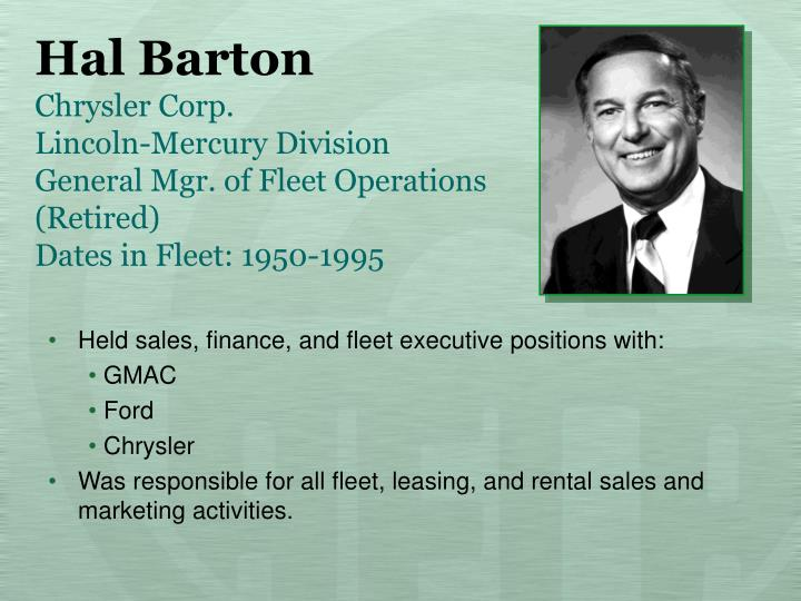 Hal Barton