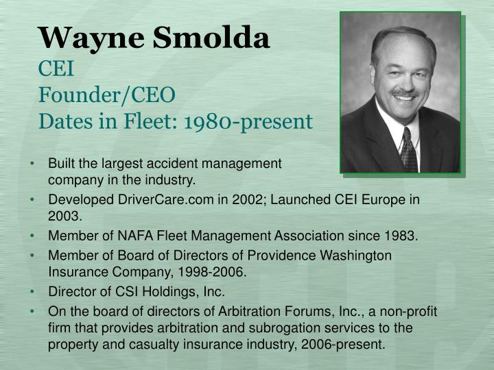 Wayne Smolda