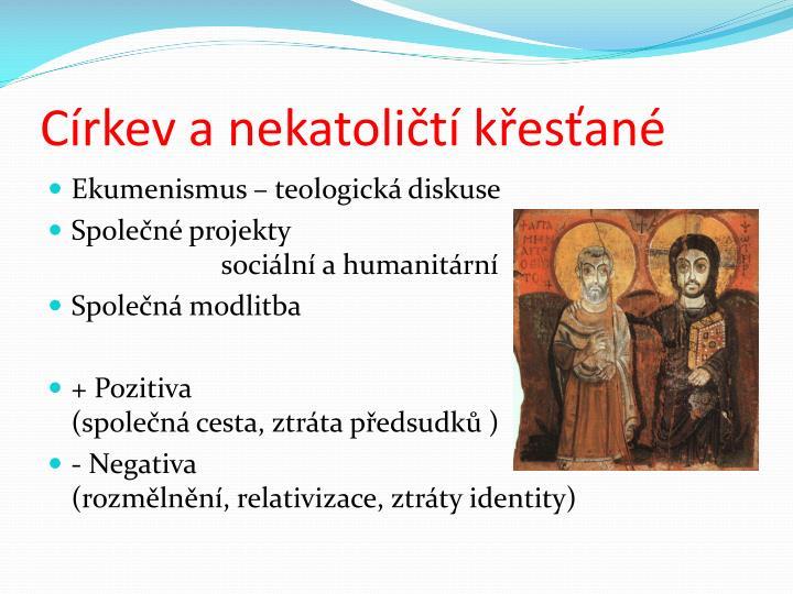 Církev a nekatoličtí křesťané