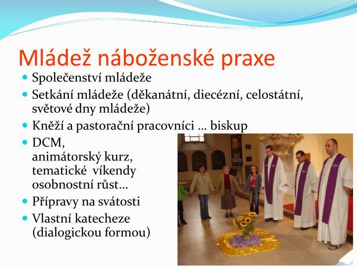 Mládež náboženské praxe