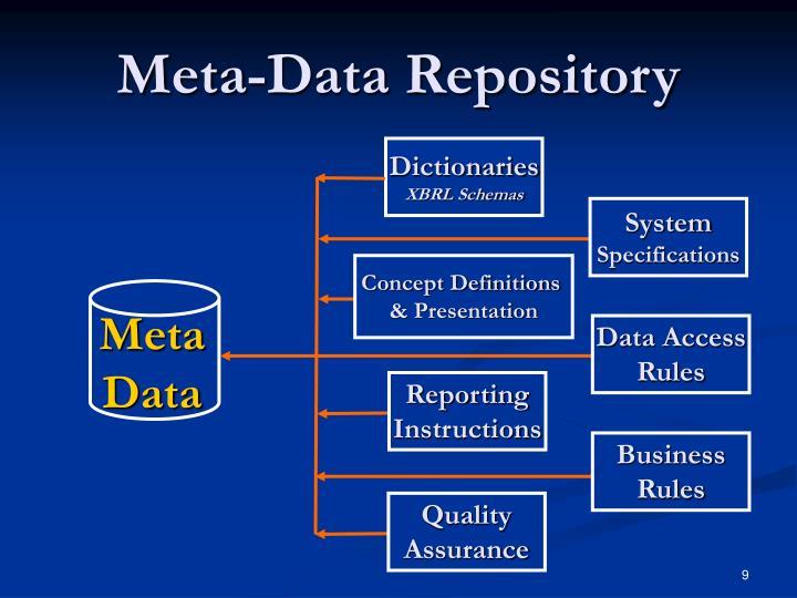 Meta-Data Repository