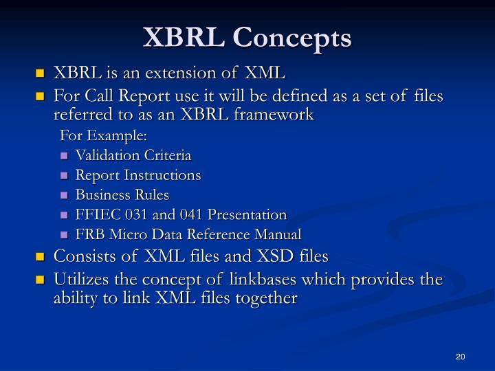 XBRL Concepts