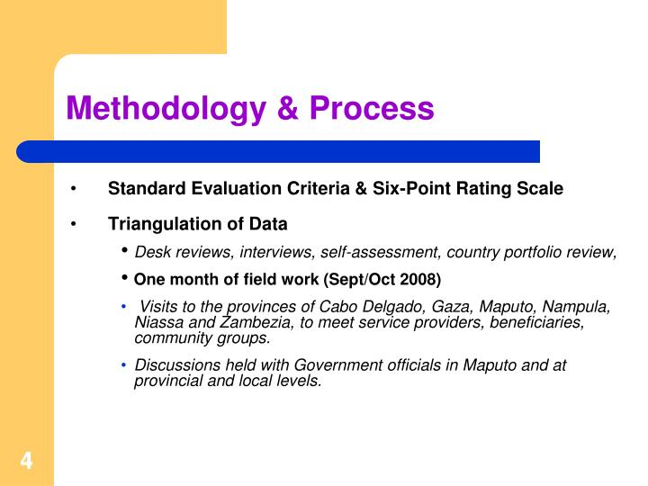 Methodology & Process