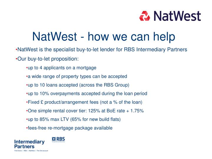 NatWest - how we can help