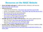 resources on the nagc website