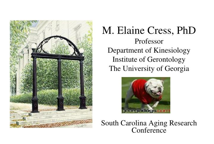 M. Elaine Cress, PhD